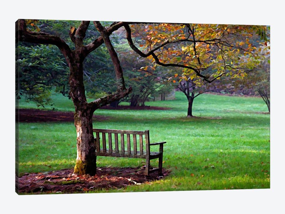 Place to Sit by J.D. McFarlan 1-piece Canvas Art Print