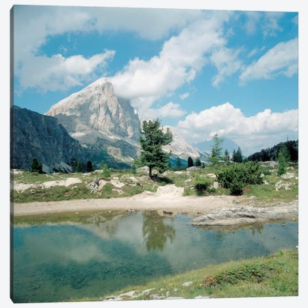 Lost Mountain Canvas Print #7087} by Carl Rosen Art Print