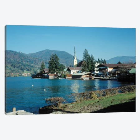 Little Town Canvas Print #7088} by Carl Rosen Canvas Wall Art