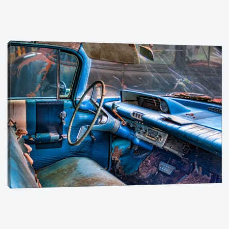 60 buick lesabre interior Canvas Print #7097} by Bob Rouse Canvas Wall Art