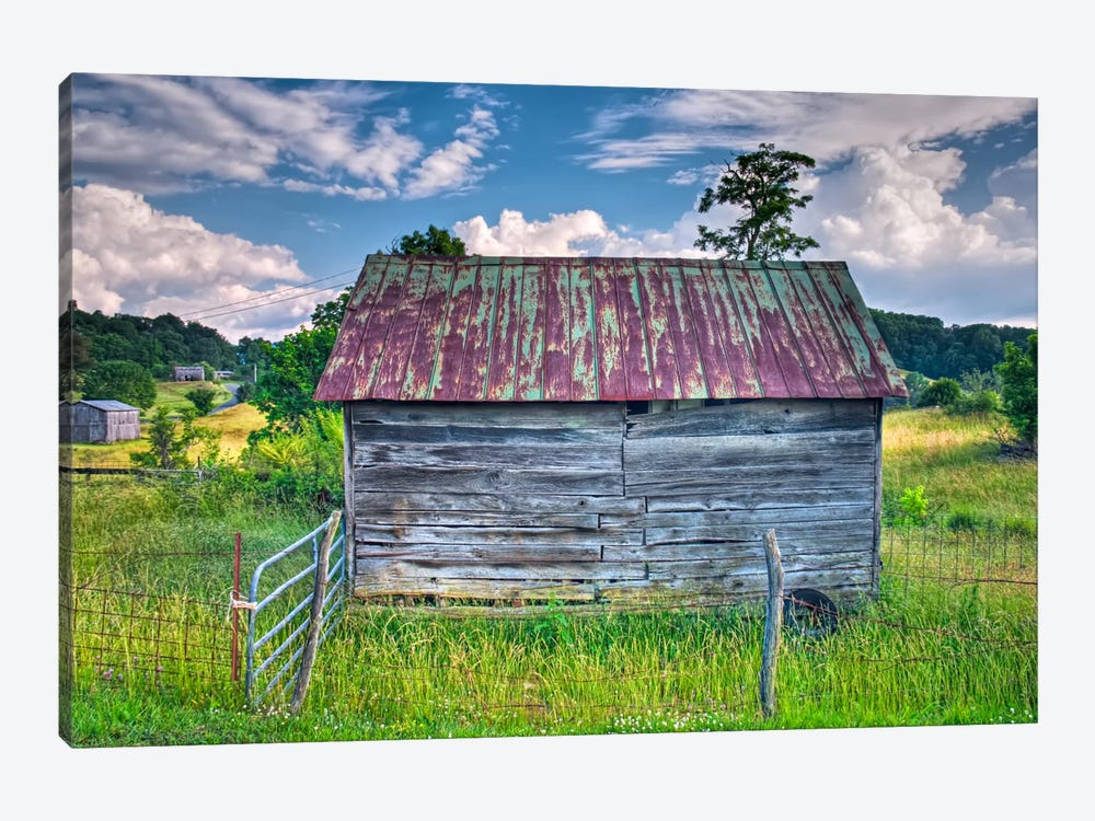 Small Barn by Bob Rouse 1-piece Art Print