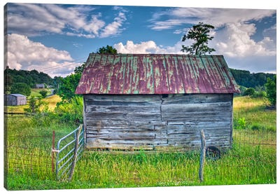 Small Barn Canvas Art Print