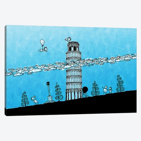 Leaning Tower of Pisa Canvas Print #7122} by Unknown Artist Canvas Print