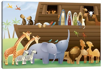 Noah's Ark Canvas Print #7123