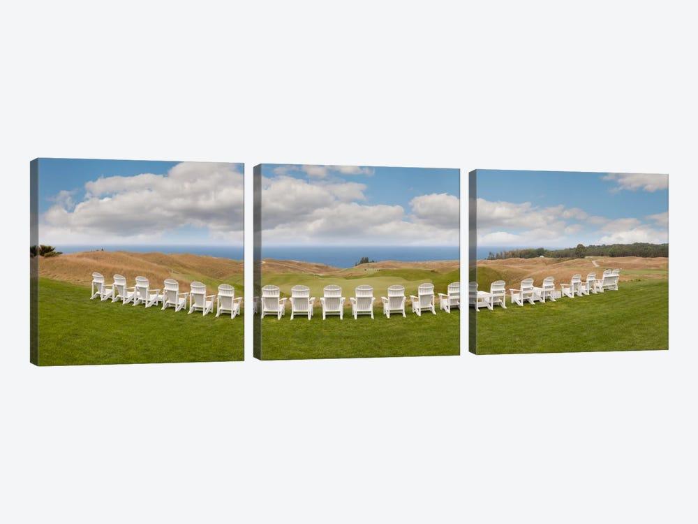 Arcadia Bluff PanoramaArcadia, Michigan '10 by Monte Nagler 3-piece Canvas Artwork