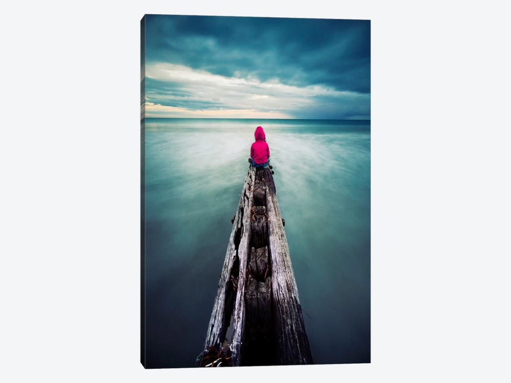 To Have The World In Front of You by SD Smart 1-piece Canvas Print