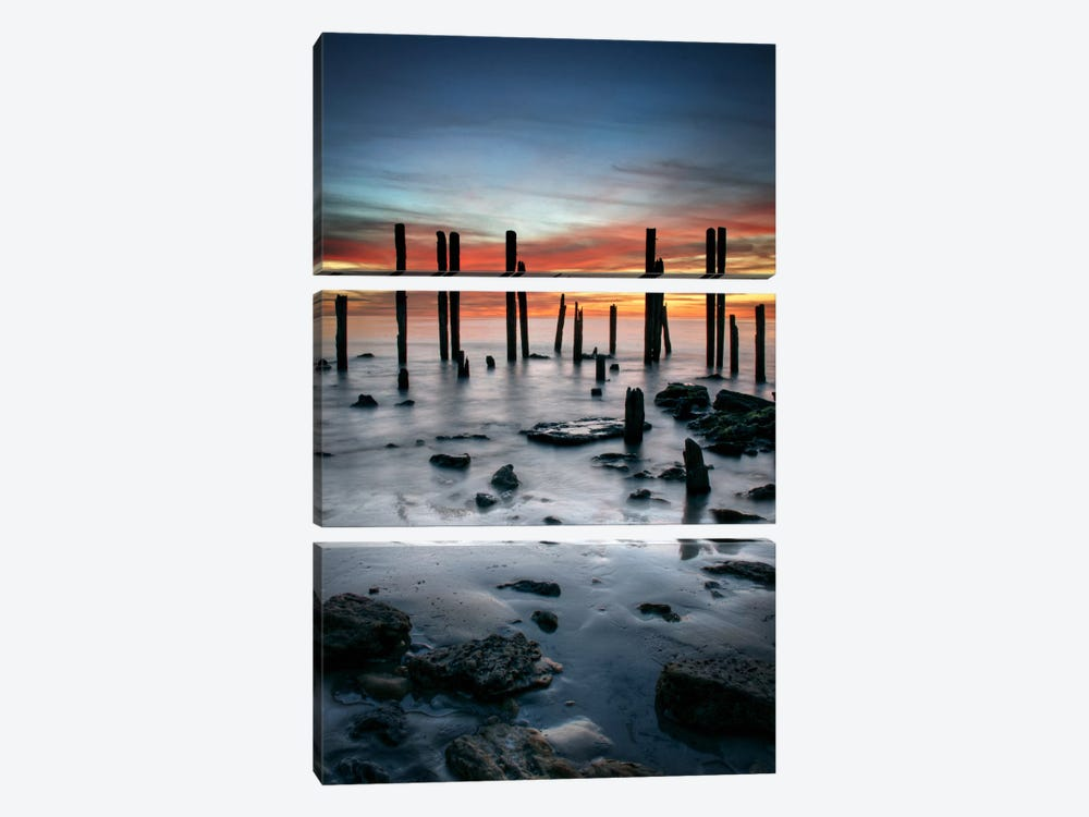 Port Willunga by SD Smart 3-piece Canvas Artwork