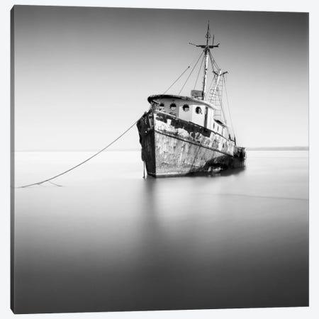 Barco Hundido Canvas Print #7158} by Moises Levy Canvas Artwork