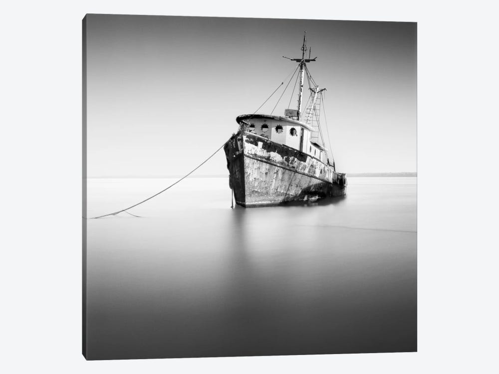 Barco Hundido by Moises Levy 1-piece Canvas Artwork