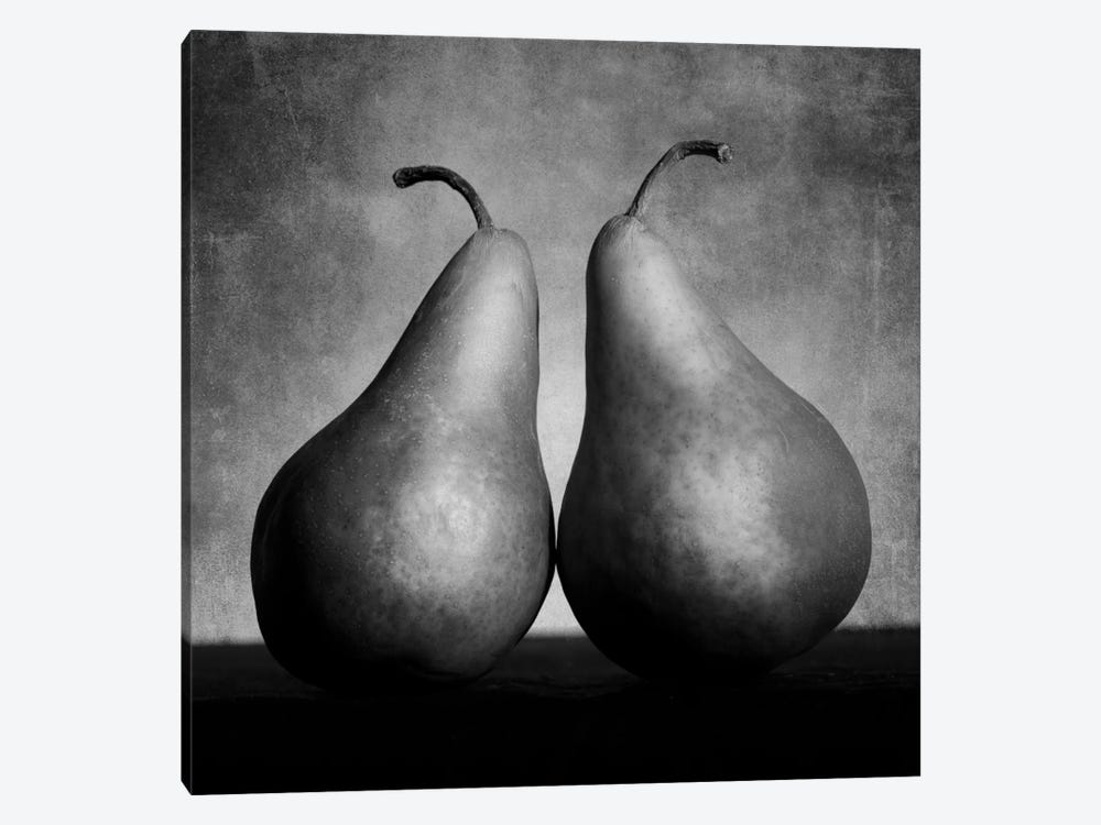 Peras enamoradas by Moises Levy 1-piece Canvas Print