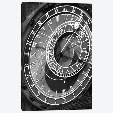 Astronomic Watch Praha 11 Canvas Print #7160} by Moises Levy Canvas Art Print