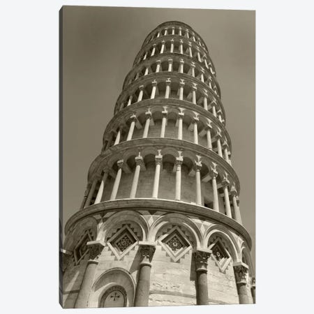 Pisa Tower II Canvas Print #7163} by Christopher Bliss Art Print