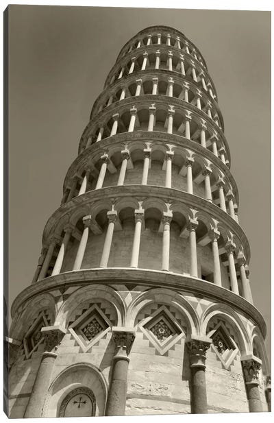 Pisa Tower II Canvas Art Print