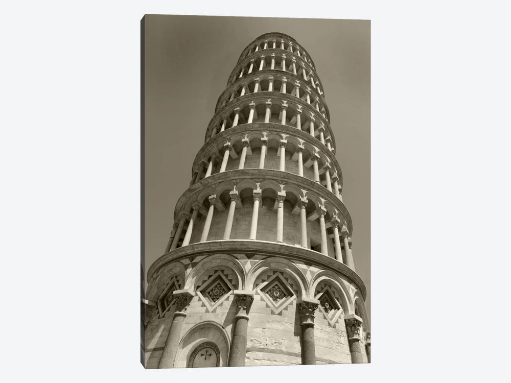 Pisa Tower II by Christopher Bliss 1-piece Canvas Artwork