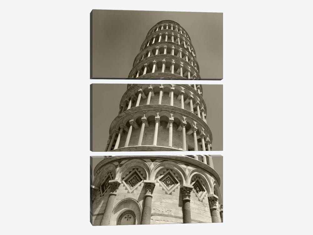 Pisa Tower II by Christopher Bliss 3-piece Canvas Wall Art