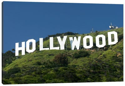 Hollywood Sign Canvas Art Print