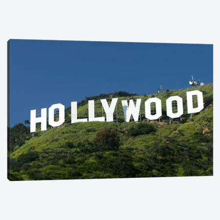 Hollywood Sign Canvas Print #7165} by Christopher Bliss Canvas Artwork