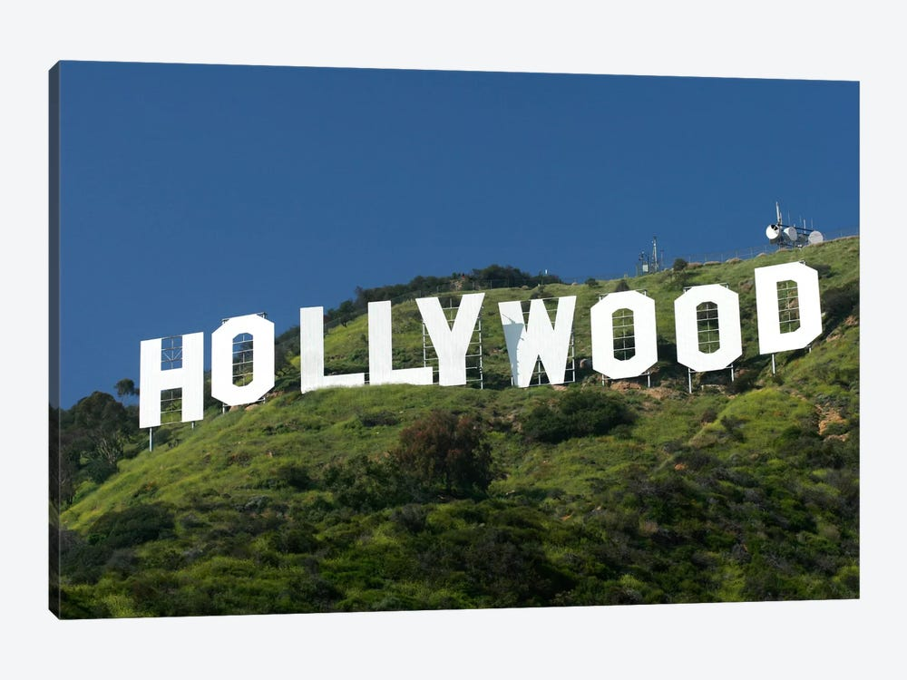 Hollywood Sign by Christopher Bliss 1-piece Canvas Wall Art