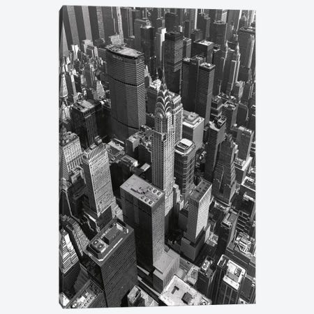 Chrysler Building And Midtown Manhattan Canvas Print #7167} by Christopher Bliss Canvas Wall Art