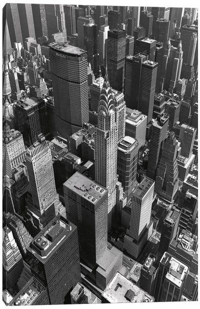 Chrysler Building And Midtown Manhattan Canvas Print #7167