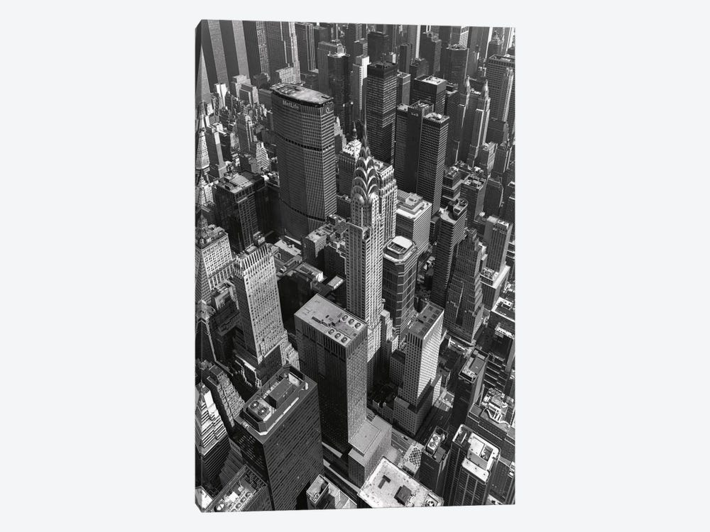Chrysler Building And Midtown Manhattan by Christopher Bliss 1-piece Canvas Artwork