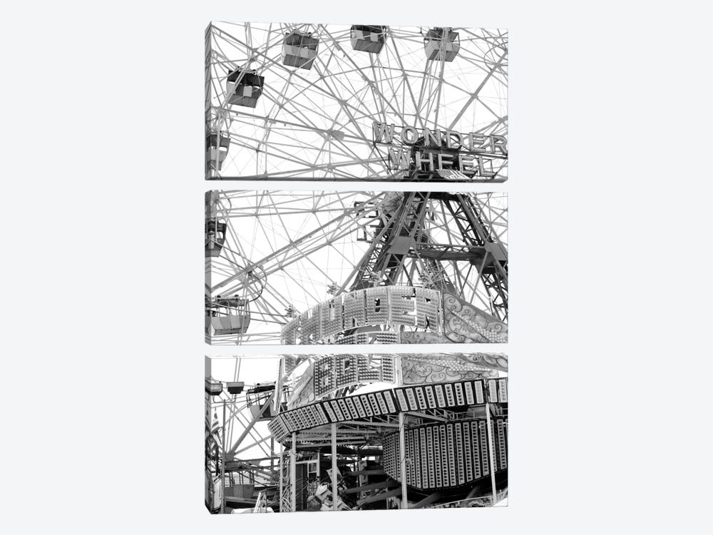 Coney4 by Christopher Bliss 3-piece Art Print