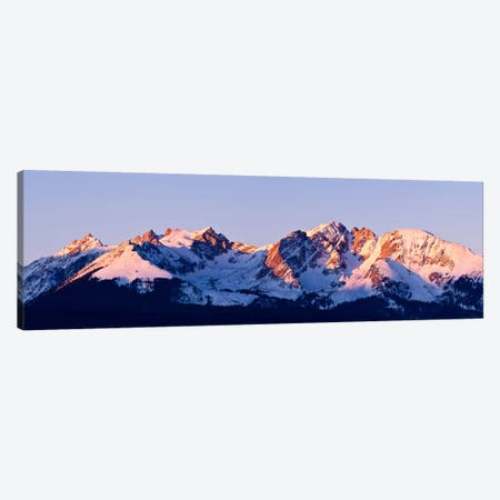 Rocky Mountain Range Canvas Print #7177} by Dan Ballard Canvas Print