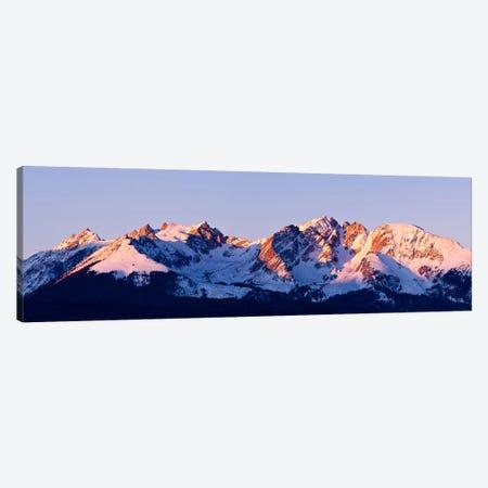 Rocky Mountain Range Canvas Print #7177} by Dan Ballard Canvas Print