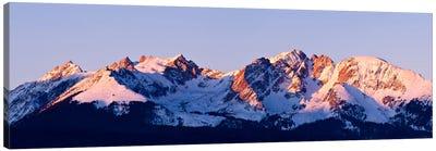 Rocky Mountain Range Canvas Art Print