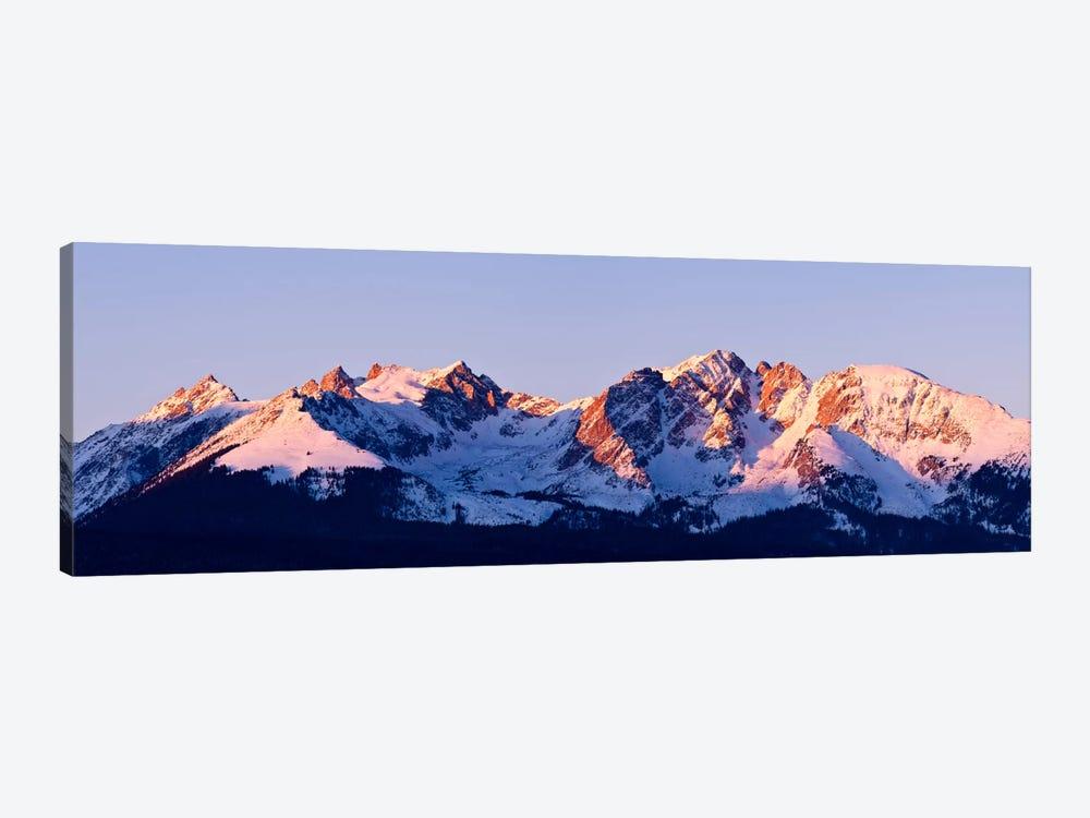 Rocky Mountain Range by Dan Ballard 1-piece Canvas Art Print