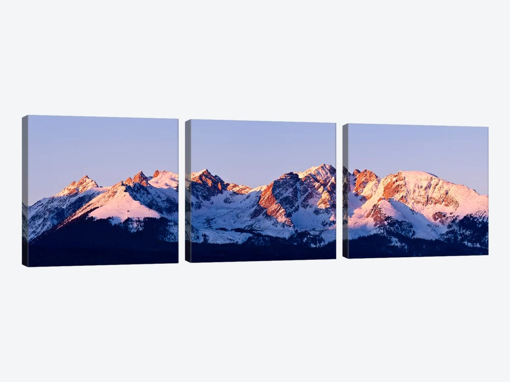 Rocky Mountain Range by Dan Ballard 3-piece Art Print
