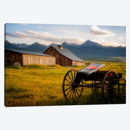 Older Times Canvas Print #7183} by Dan Ballard Art Print