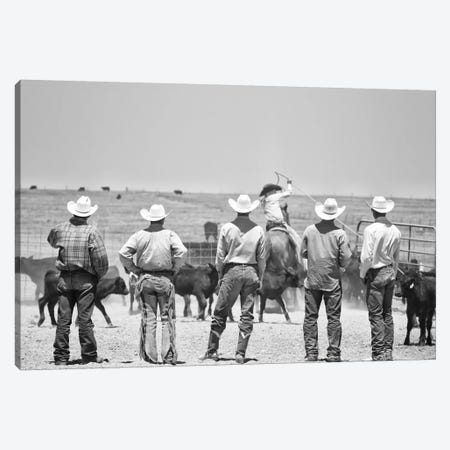Teaching the guys Canvas Print #7188} by Dan Ballard Canvas Art Print