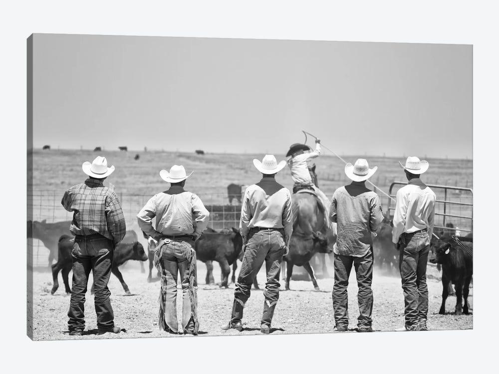Teaching the guys by Dan Ballard 1-piece Canvas Print