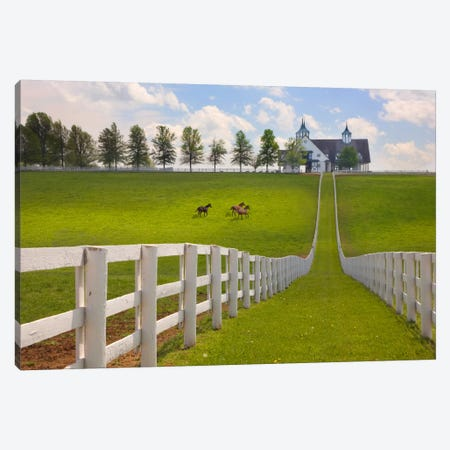 Manchester Farm, Kentucky 08 - Color Canvas Print #7193} by Monte Nagler Canvas Artwork