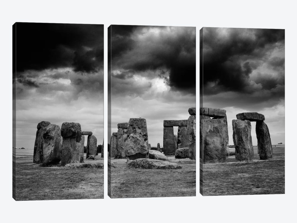 Stonehenge, England 89 by Monte Nagler 3-piece Canvas Wall Art