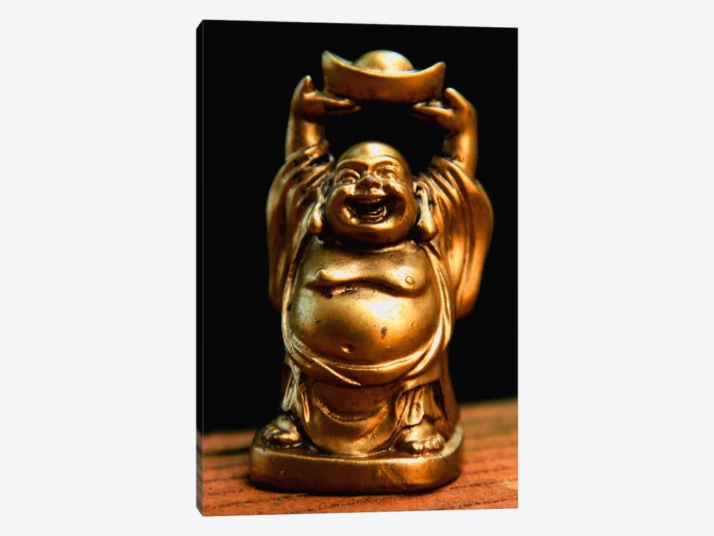 Golden Buddha Statue by Unknown Artist 1-piece Canvas Art Print