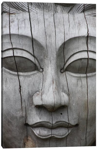 Buddha's Face Canvas Print #7220