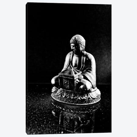 Stone Buddha Sculpture Canvas Print #7221} by Unknown Artist Canvas Artwork