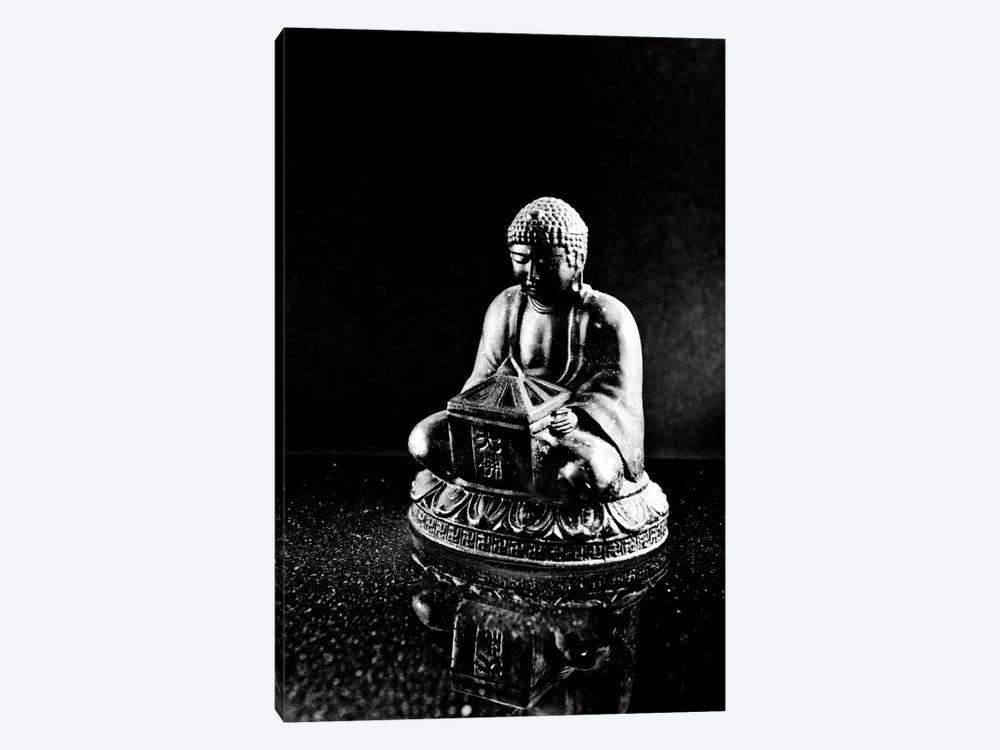 Stone Buddha Sculpture by Unknown Artist 1-piece Canvas Art