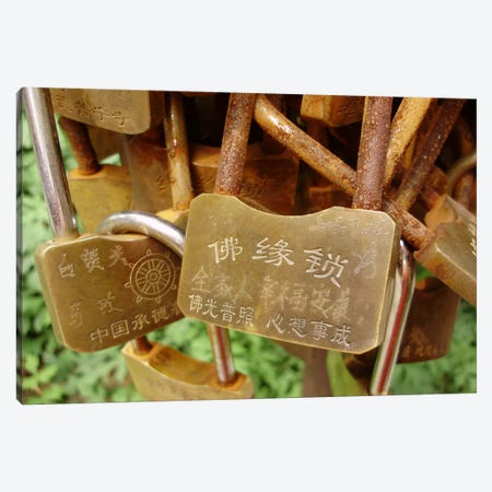 Buddhist Locks At Puning Canvas Print #7222} by Unknown Artist Canvas Wall Art