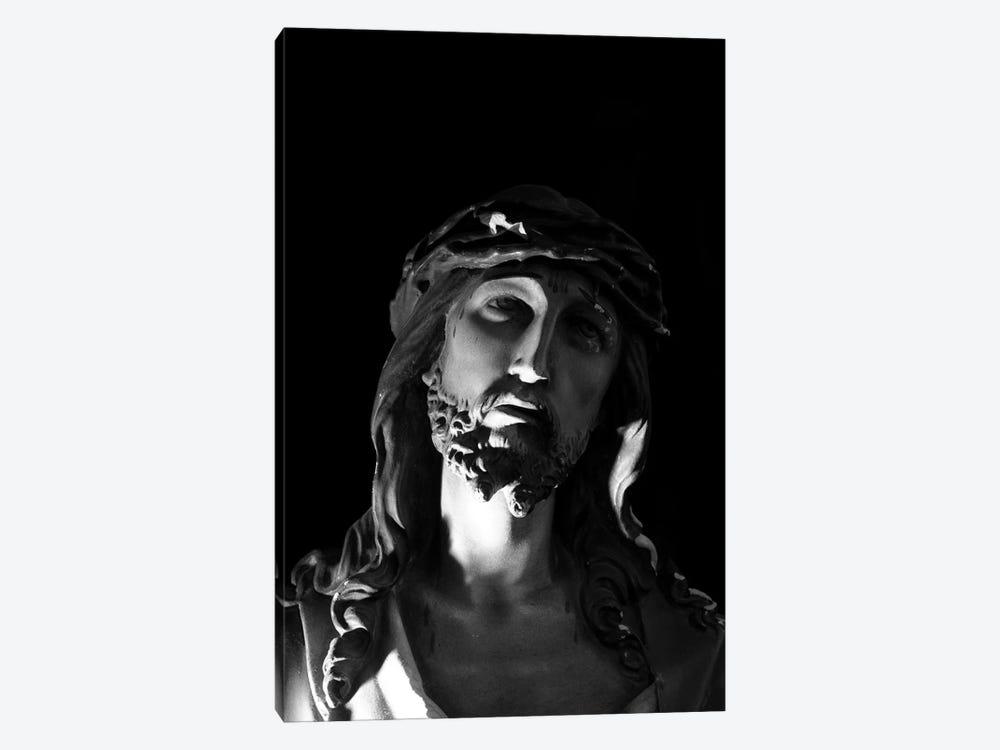 Jesus Christ Sculpture by Unknown Artist 1-piece Canvas Art Print