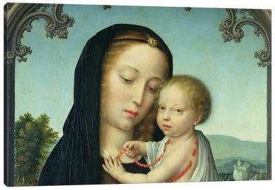 Virgin & Child Canvas Print #7229