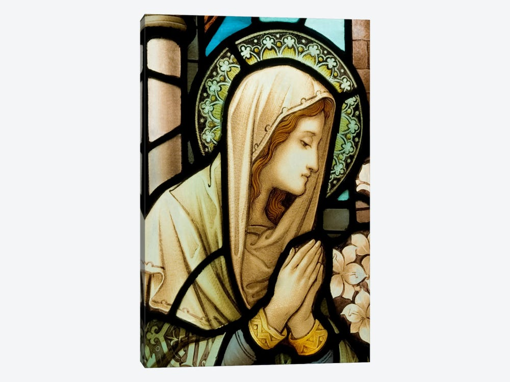 Virgin Marry by Unknown Artist 1-piece Canvas Artwork