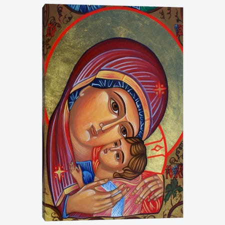 Theotokos & Christ Canvas Print #7231} by Unknown Artist Canvas Print