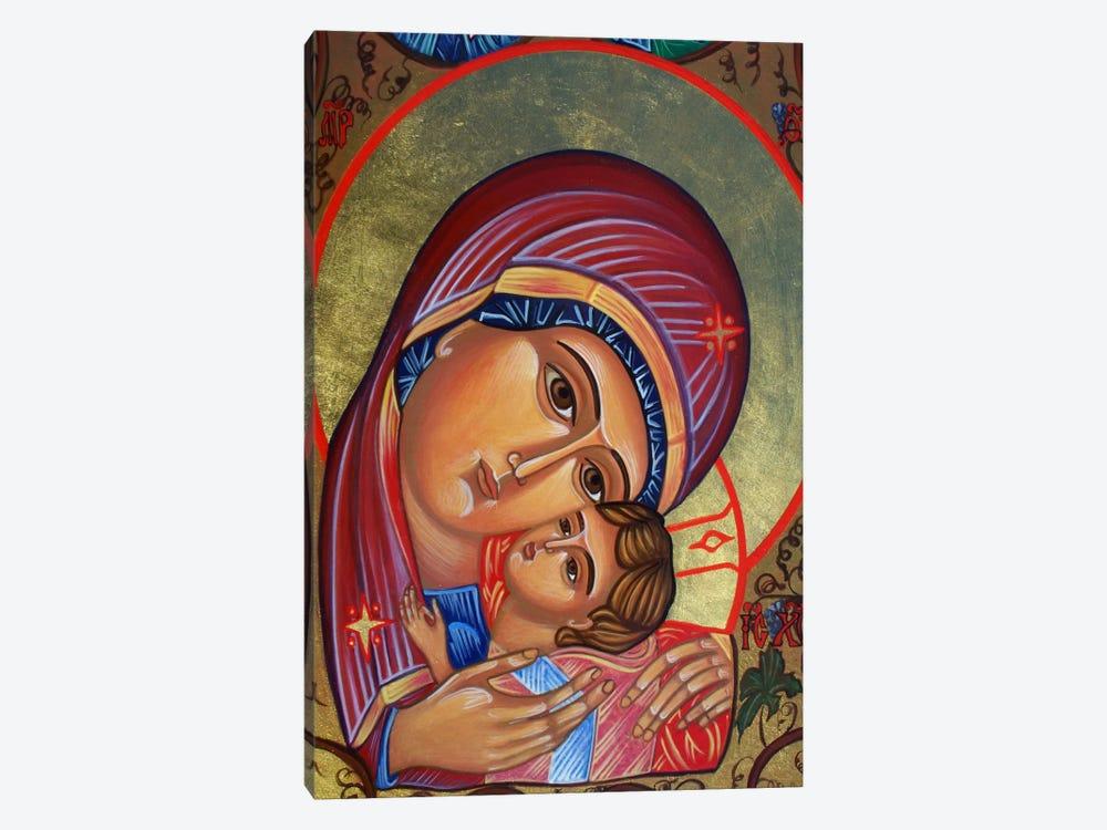 Theotokos & Christ by Unknown Artist 1-piece Canvas Art Print