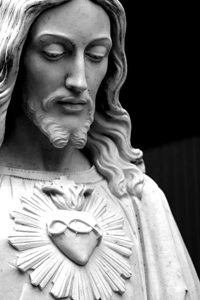 jesus christ black white canvas art icanvas