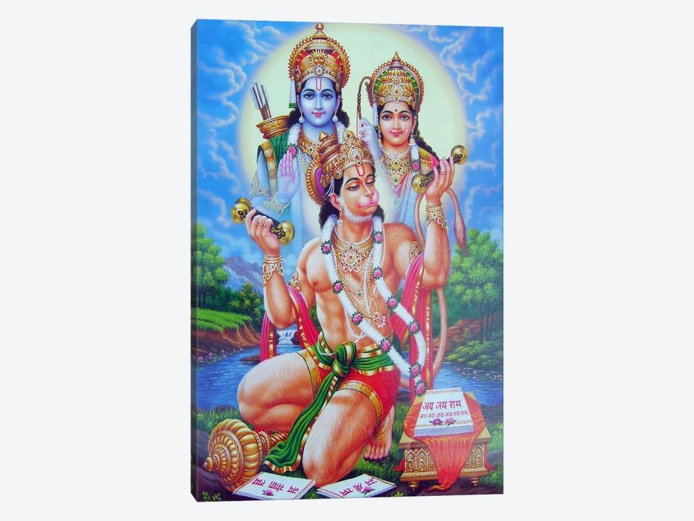 God Hanuman by Unknown Artist 1-piece Canvas Print