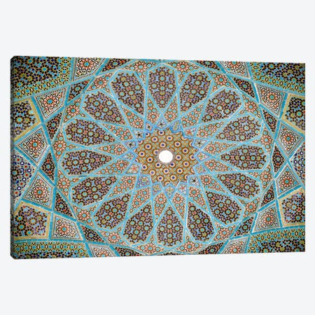 Tomb of Hafez Mosaic Canvas Print #7252} Art Print