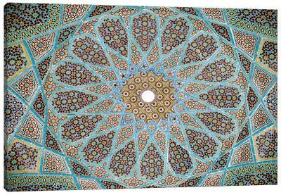 Tomb of Hafez Mosaic Canvas Print #7252